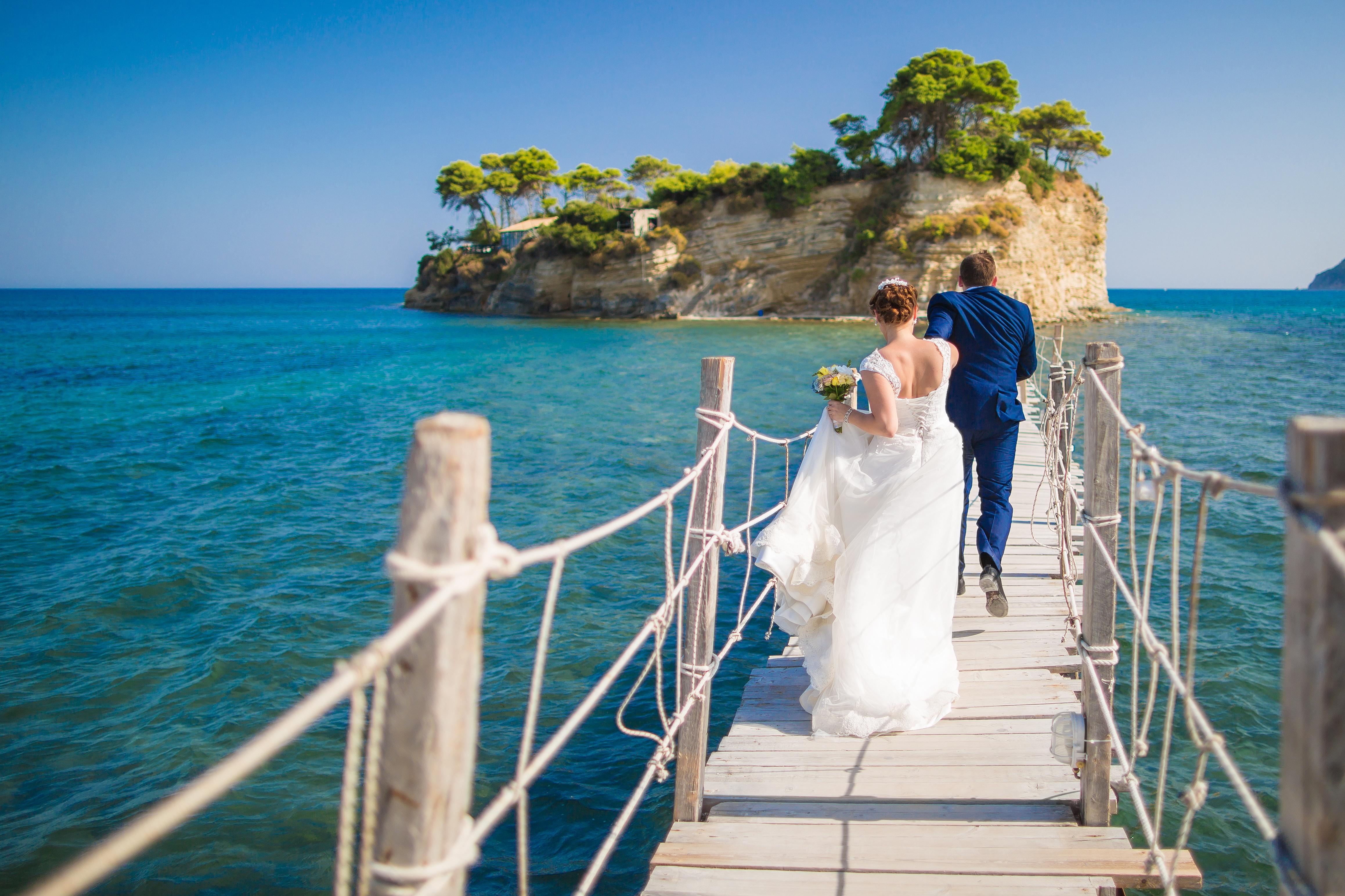 Фото со свадьбы на острове