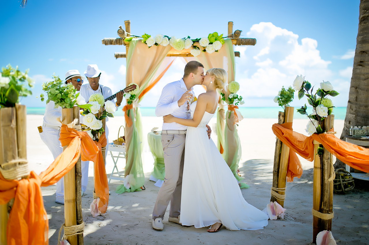 Доминикана символическая свадьба фото