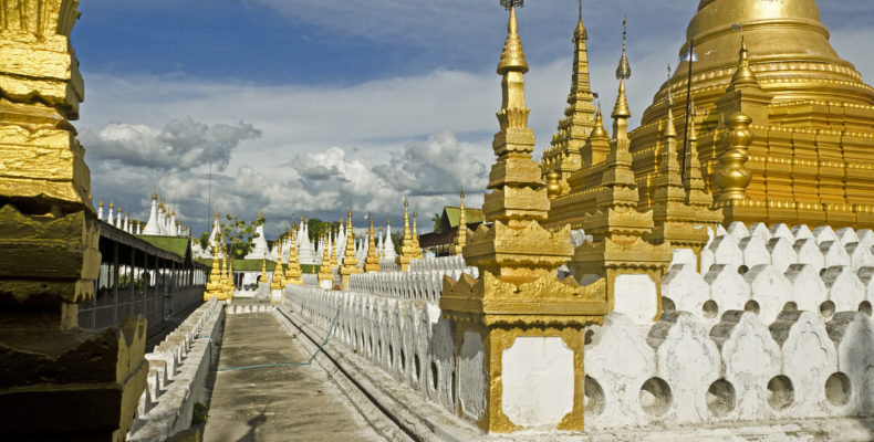 Mandalay Myanmar, city and around temples