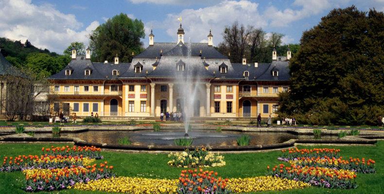 дворцово-парковый ансамбль Пильниц