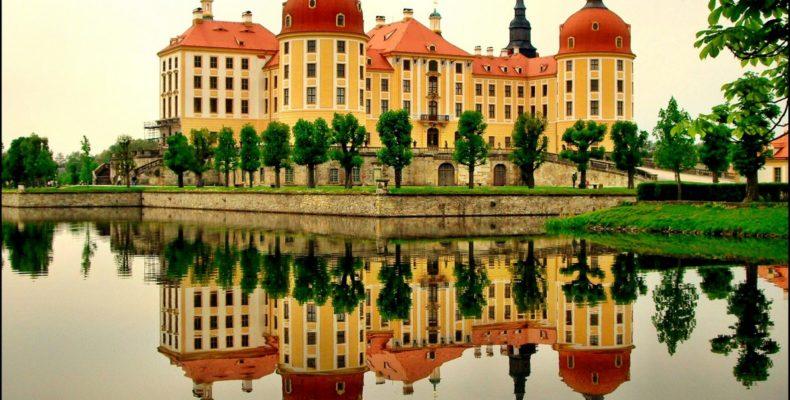 замок Морицбург 2