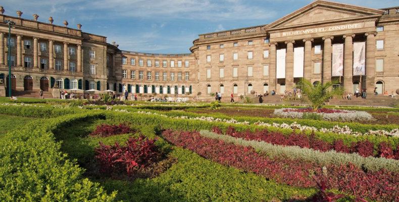 парк и дворец Вильхельмсхёэ