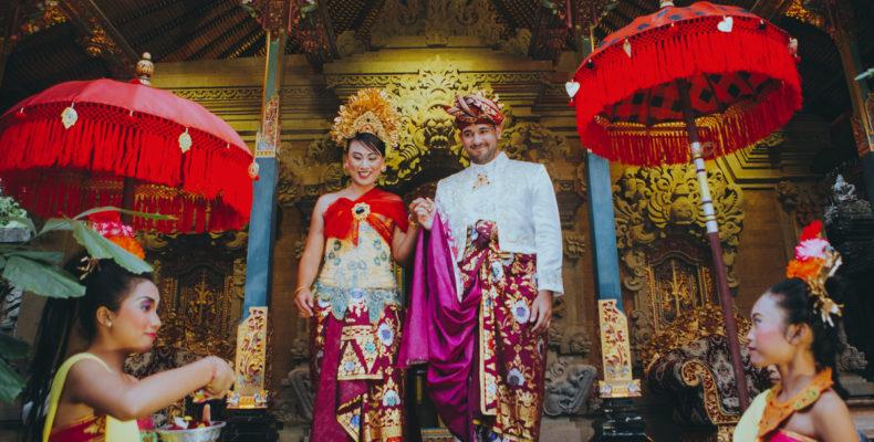 Королевская свадьба на Бали 1