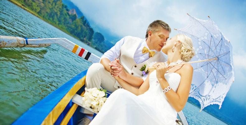 Свадьба в горах на озере на Бали 3