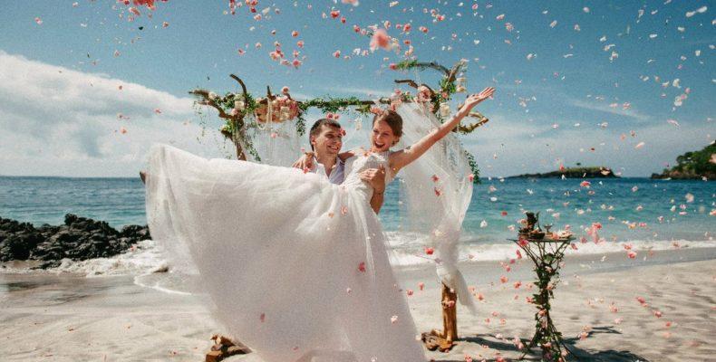 Свадьба на пляже Бали 1
