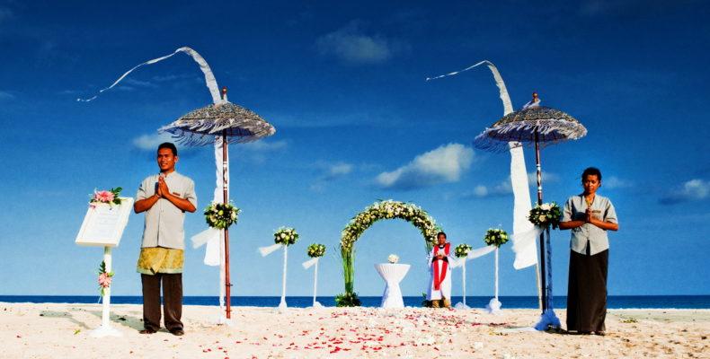 Свадьба на пляже Бали 2