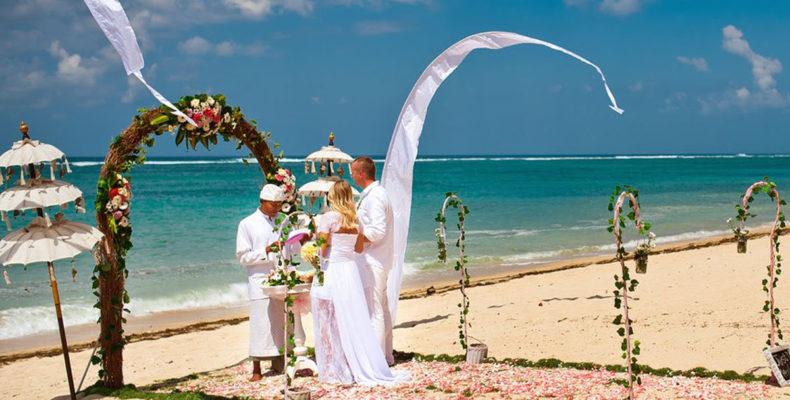 Свадьба на пляже Бали 4