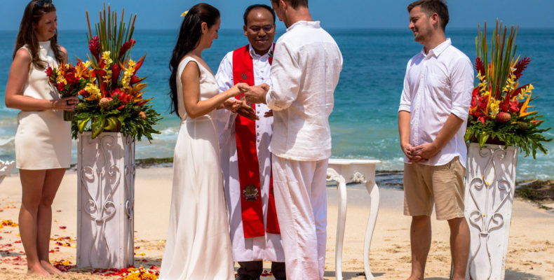 Свадьба на пляже Бали 5