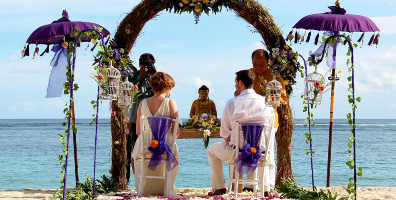 Свадьба на пляже Бали 6
