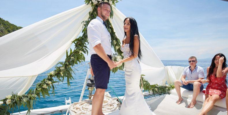 Свадьба на яхте Бали 7