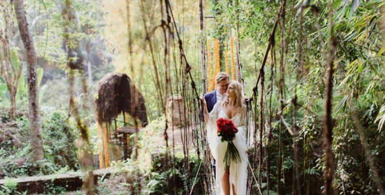 свадьба в джунглях Бали 1