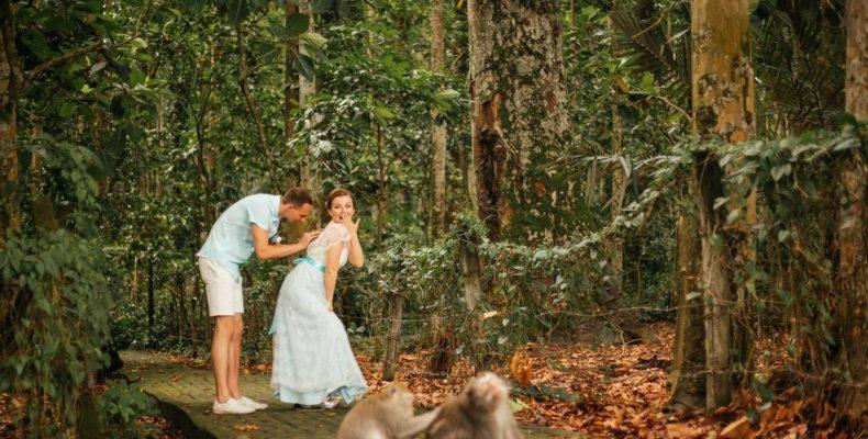 свадьба в джунглях Бали 2