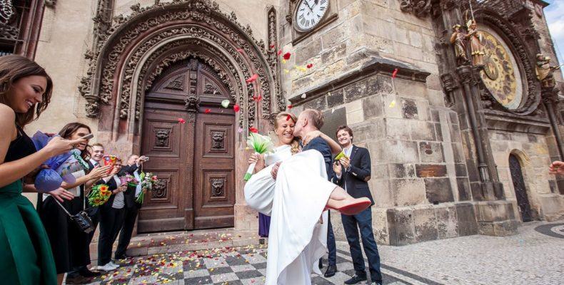 Свадьба в Староместской ратуше 2