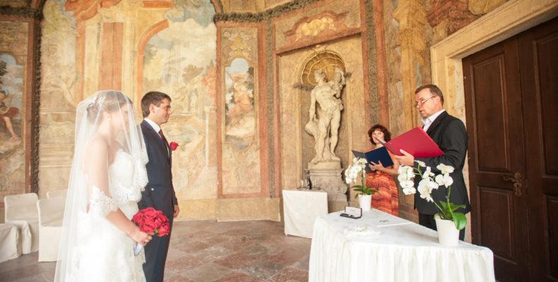 свадьба в Вртбовских садах 4
