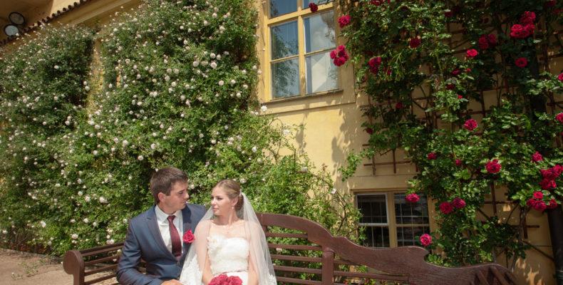 свадьба в Вртбовских садах 6
