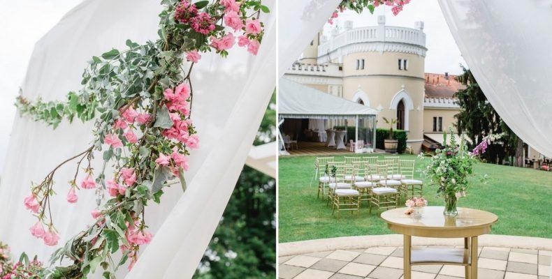 свадьба в Шато St.Havel 1