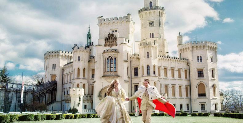 свадьба в замке Глубока над Влтавой 1