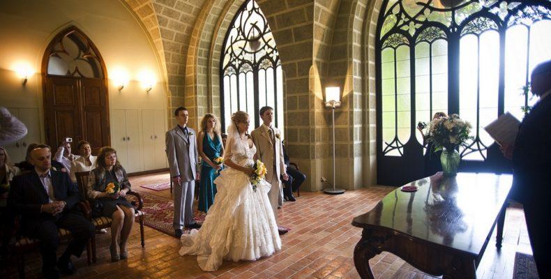 свадьба в замке Глубока над Влтавой 2