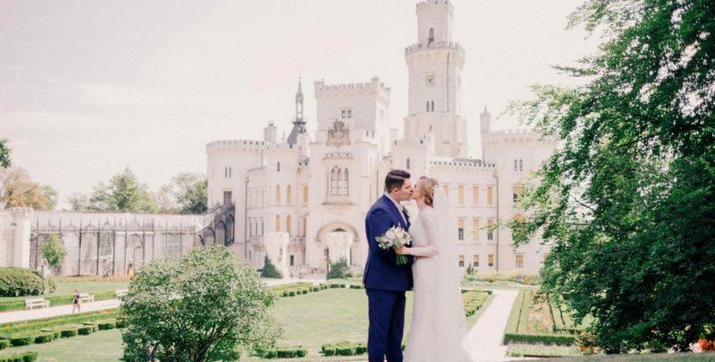 свадьба в замке Глубока над Влтавой 3