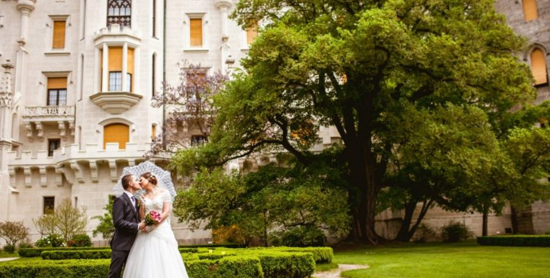 свадьба в замке Глубока над Влтавой 4