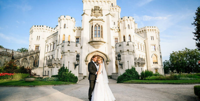 свадьба в замке Глубока над Влтавой 5