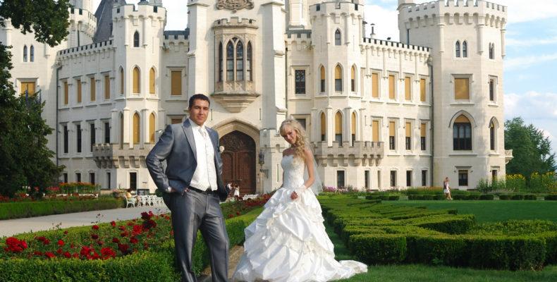 свадьба в замке Глубока над Влтавой 7