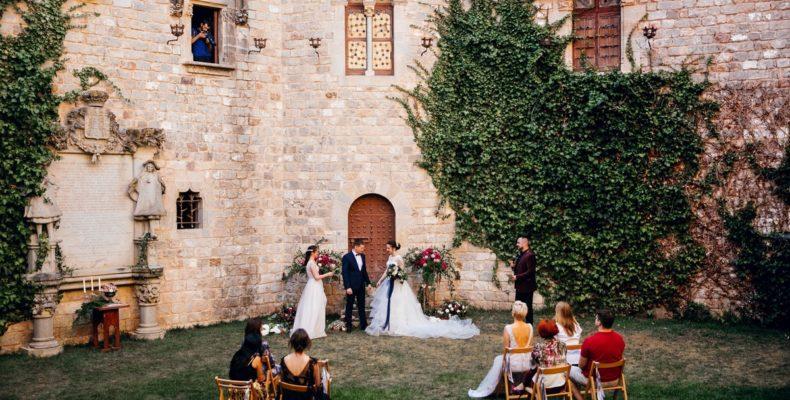 свадьба в замке Кривоклат 4