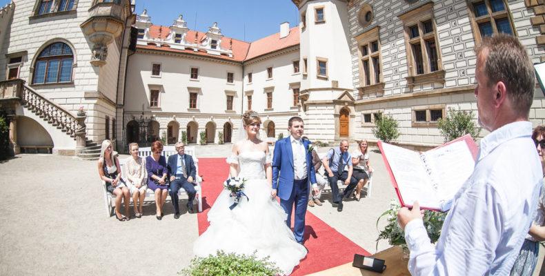 свадьба в замке Пругонице 2