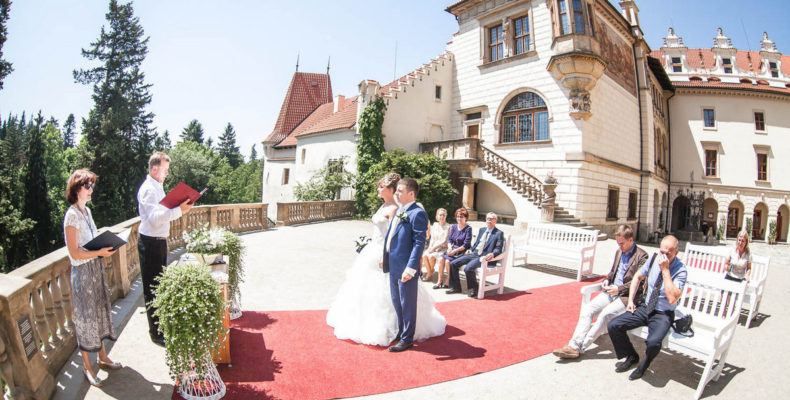 свадьба в замке Пругонице 3