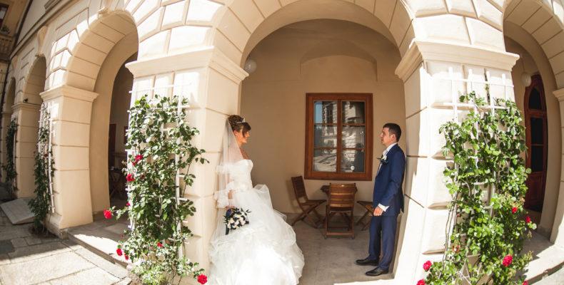 свадьба в замке Пругонице 4
