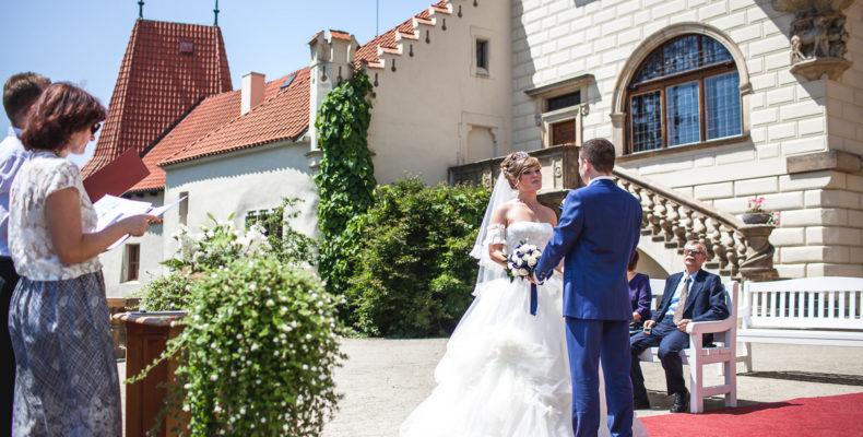 свадьба в замке Пругонице 5
