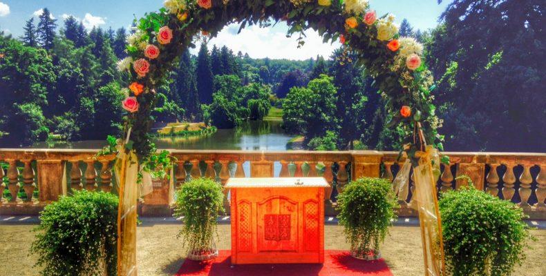 свадьба в замке Пругонице 6