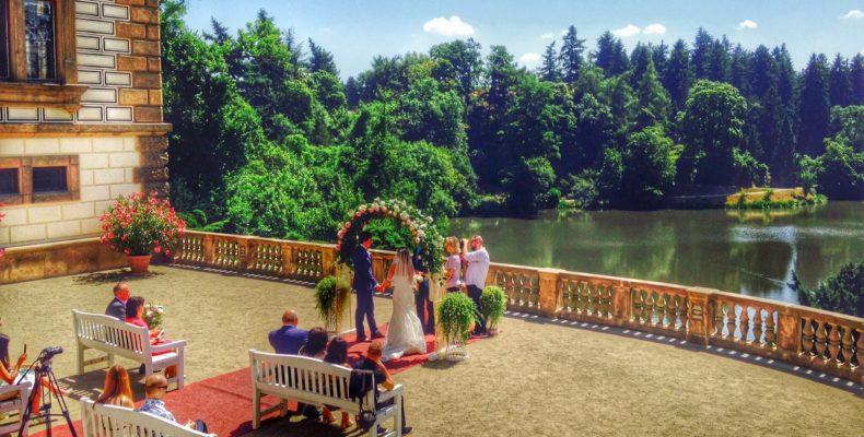 свадьба в замке Пругонице 7