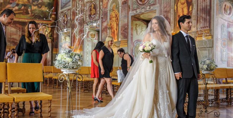 свадьба в замке Троя 3