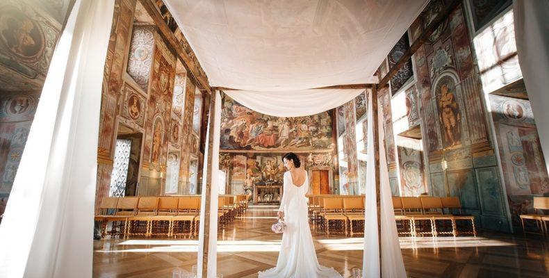 свадьба в замке Троя 4