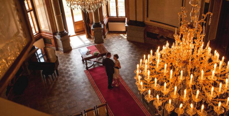 свадьба в замке Шато Барокко 1