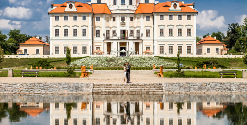 свадьба в замке Шато Барокко 3