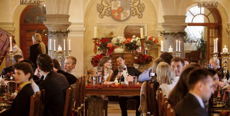 Свадьба в замке Збирог 6