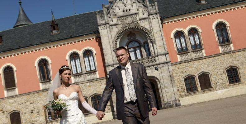 свадьба в замке Сихров 3