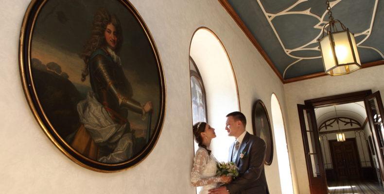 свадьба в замке Сихров 7