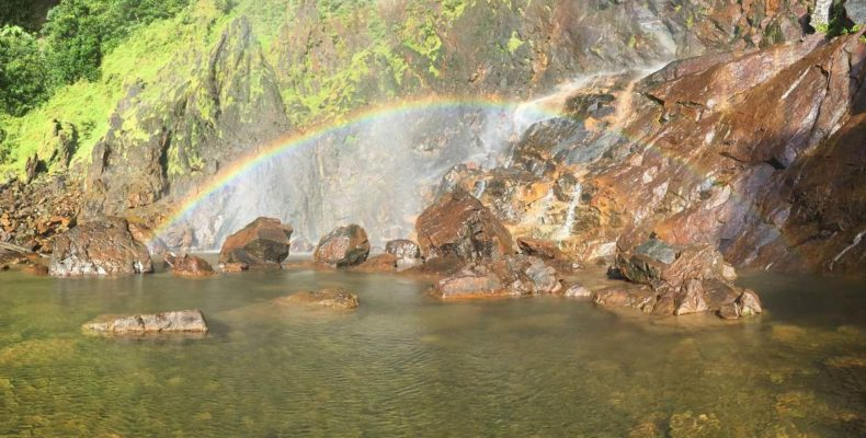 Sungai Lembing Rainbow Waterfall 4