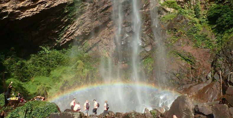 Sungai Lembing Rainbow Waterfall