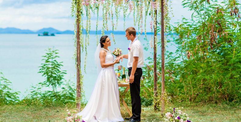 Европейская свадьба на Пхукете в Эко-стиле 1