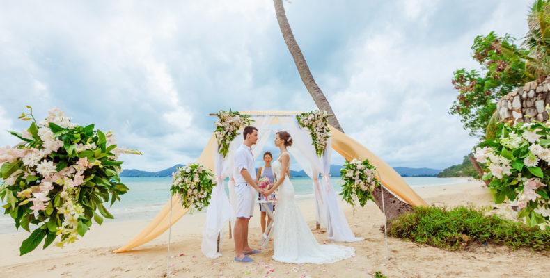 Свадьба на вилле Пхукета 4