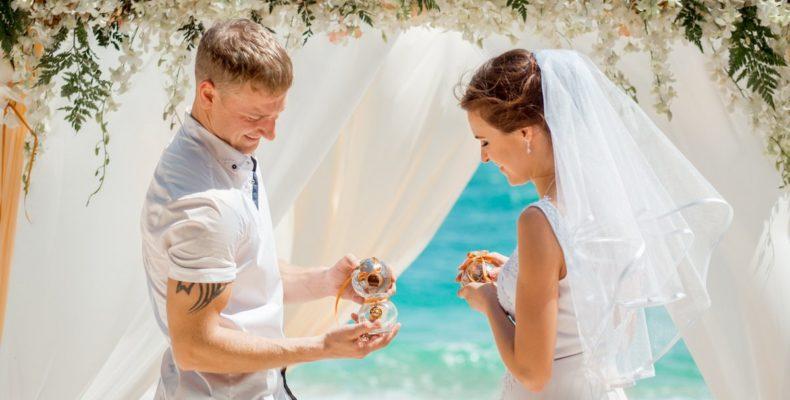 Свадьба на пляже Бон 1