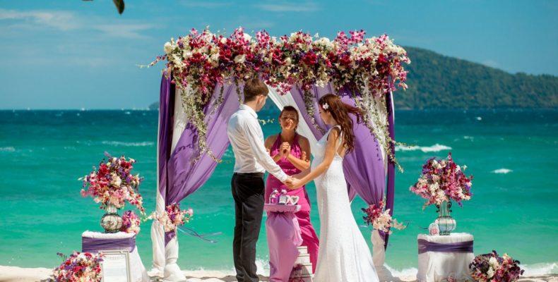Свадьба на пляже Бон 4