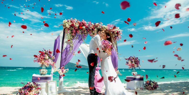 Свадьба на пляже Бон 5