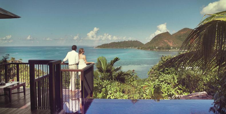 Свадьба в Raffles Praslin Resort 1