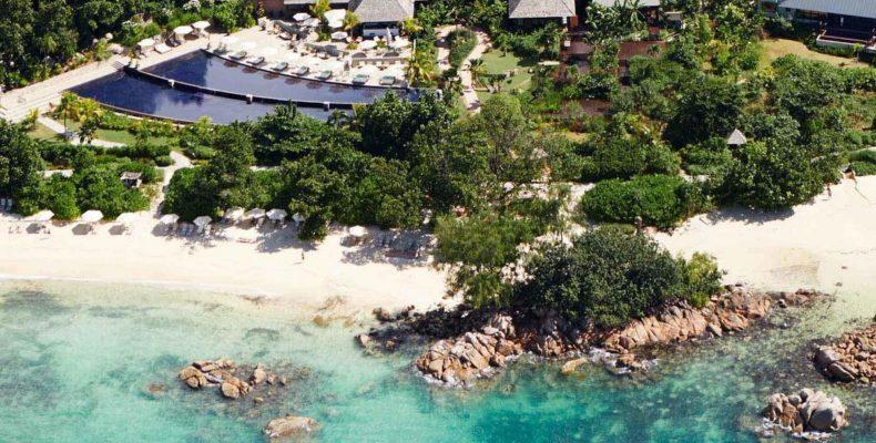 Свадьба в Raffles Praslin Resort 11
