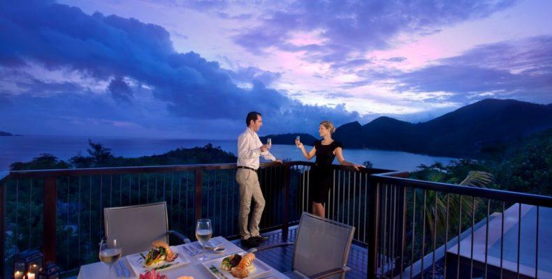 Свадьба в Raffles Praslin Resort 5